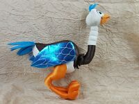 """Disney Store Exclusive Ostrich Miles from Tomorrowland 19"""" Stuffed Poseable Toy"""