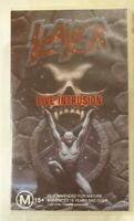 Slayer: Live Intrusion VHS 1995 Metal Music Video BMC / American Visuals Small