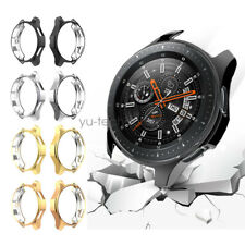 2pcs TPU Plated Protector Bumper Case Cover For Samsung Galaxy Watch 42mm 46mm
