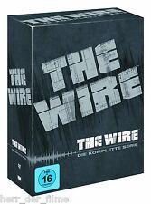 THE WIRE, Die komplette Serie (Staffel 1-5) 24 DVDs NEU+OVP