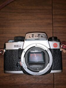 Leica R6.2 silver used, no lens included.