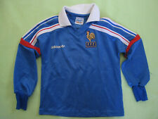 Maillot Equipe France 1986 Adidas Vintage Football Shirt ventex Enfant - XXS