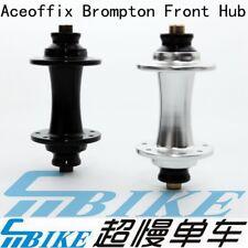 Ace 74mm Bicycle Front Wheel Hub 16H 14H 28H for Brompton dahon folding bike