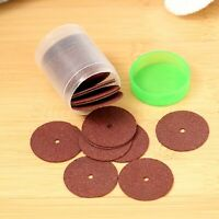 36Pcs 24mm Reinforced Cut Off Grinding Wheels Discs Metalworking Rotary Tools