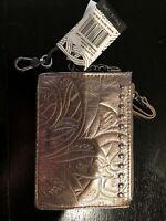 New The Sak Silverlake Coin/ID Wallet White Metallic NWT MSRP $39