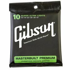 Gibson Gear Sag-mb10 Masterbuilt Premium Corde per Chitarra acustica rivestite I