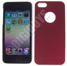 Fundas y carcasas lisas de plástico de color principal rojo para teléfonos móviles y PDAs