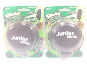 2 Junior Mints Hog Wild Sticky Squishy Toy Splats and Sticks to Flat Surfaces