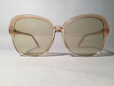 Vintage damensonnenbrille années' 70 ans 56 12 transparent carré