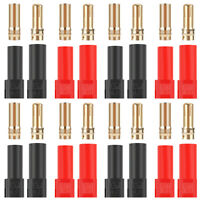 16pcs XT150 Connector Adapter Set Female Male 6mm Banana Bullet Plug for RC Car