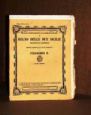 IL REGNO DELLE DUE SICILIE DESCRITTO E ILLUSTRATO -PROV. BENEVENTO- NAPOLI, 1853