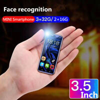 Super Mini 4G LTE Smallest Smartphone K-TOUCH I9Android8.1 3GB/32GB Face ID Wifi