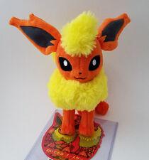 "Japanese Pokemon Center 8"" Flareon plush doll 2012 standing"