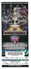2012 Sugar Bowl Full Ticket Michigan Wolverines (23) Virginia Tech (20) 1/3/12