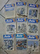 Sammlung 9 Pete  Hefte Nr 4 5  14 15 16  19 20 105 177 50er Jugend Zeitschift