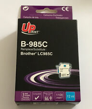 DESTOCKAGE UPRINT @ CARTOUCHE COMPATIBLE BROTHER LC985C CYAN / LC985 DCP MFC