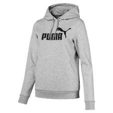 Puma Ess Logo Hoody FL Light Gray Heather XS