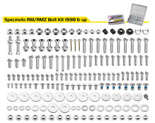 SUZUKI Spec Factory Match Bolt Kit RMZ250 RMZ450 RM125 RM250 RM80 RM85 RM100