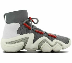 Adidas Consortium Men's Sneakers Size 9.5 Crazy 8 A//D Grey/Red/Sesame - CQ1869