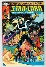 Marvel STAR-LORD THE SPECIAL EDITION #1 - Byrne Art - VF 1982 Vintage Comic