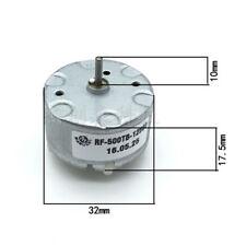 Mabuchi RF500TB-12560 Motor DC 1.5V 6V 12V 4600RPM 32mm DCMotor Spray Maschine9U