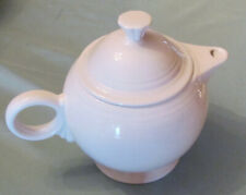 Fiesta Teapot White Contemporary Fiestaware HLC