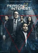 Person of Interest: The Complete Fifth 5th Final Season 5 (3 DVD set, 2016)  NEW