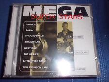 MEGA SUPER STARS America, Saxon, The Hollies, M.C.Hammer, ua Rock/Pop CD RAR+NEU