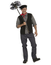 Chimney Sweep Costume Mary Poppins Bert Victorian Worker Costume-Std