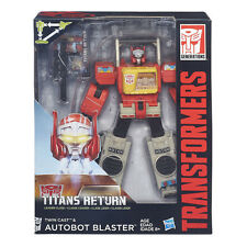 Transformers Hasbro Titans return Leader Class Twin Cast & Blaster New MISB