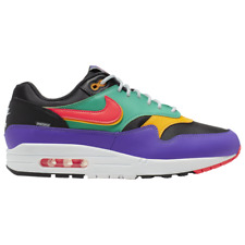 Brand New Men's Nike Air Max 1 Athletic Basketball Sneakers | Black & Multi