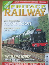 HERITAGE RAILWAY THE COMPLETE STEAM NEWS MAGAZINE ISSUE 127 AUGUST 6 2009