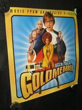 "AUSTIN POWERS GOLDMEMBER Advance Banner 36"" X 36"" BEYONCE Rare Soundtrack Poster"