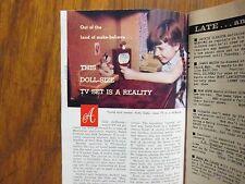 1958 TV Guide(PATTY  DUKE/ROD  CAMERON/NOREEN  CORCORAN/ED SULLIVAN/GAIL PATRICK
