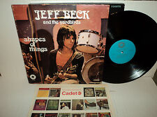 JEFF BECK AND THE YARDBIRDS - SHAPES OF THINGS - 1972 SPRINGBOARD  NM VINYL LP