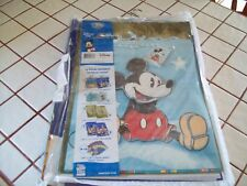 Disney Mickey Mouse Quality set 16 piece gift wrap set new in vinyl zippered bag