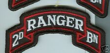 2ND  BATTALION   75TH  RANGER REGIMENT  SCROLL PATCH ,