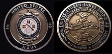 ~ USS Reuben James ~ Ship 2 ~ US Navy Recruit Training Command Challenge Coin ~