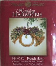 Mill Hill Charmed Counted Cross Stitch Bead Kit 'French Horn' 16-7302