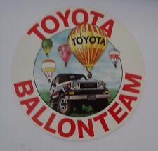 Stickers TOYOTA ballonteam en montgolfière Land Cruiser j70 lj70 80er Autocollant