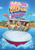 Barbie: Dolphin Magic DVD (2018) Conrad Helten cert U ***NEW*** Amazing Value