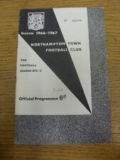 30/08/1966 Northampton Town v Bury  (writing on front). Thanks for viewing this