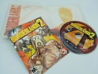 Borderlands 2 (Sony PlayStation 3 PS3, 2012) Complete Game Role Player Shooter