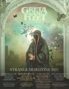 Greta Van Fleet - Tour 2021 Posters | Unframed Premium Paper Posters