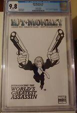 Hit Monkey #1 2nd Print CGC 9.8 1st app B&W Frank Cho Deadpool Marvel Comics