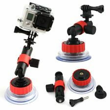 360° Rotation Suction Cup Mount Holder with Locking Arm for Gopro 5/4/3/3+/2 DV