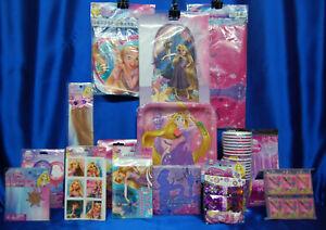 Tangled Party Set # 19 Rapunzel Princess Centerpiece Tablecloth Banner Cups
