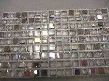 24 swarovski full cube stones,6mm crystal AB/CAL-V #4840