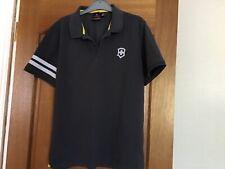 Mens' Victorinox Polo Shirt colour grey (size L)