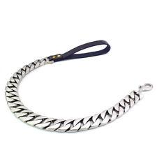 HDK LUX Dog Leash : PHASMA SILVER | L : 60CM x W : 31mm | **AUTHORIZED SELLER**